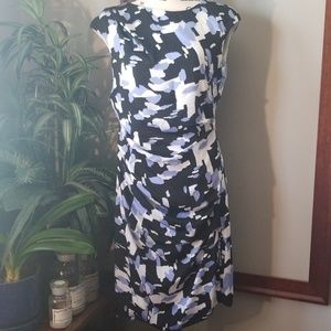 DKNY, Side Gathered Career Dress, sz 8
